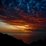 Sunset over Calanche, Corsica [8581/36x]
